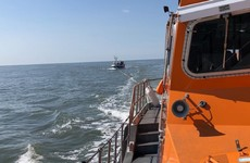 Lifeboat rescues fishing crew from sinking vessel off coast of Wexford