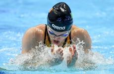 McSharry finishes 7th in 100m breaststroke final at European Championships