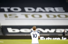 Kane was not bidding farewell to fans with lap of honour after defeat - Spurs interim boss