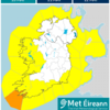 Flooding risk in Munster and west Connacht due to 'unseasonably wet and windy' weather