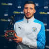 Manchester City defender Ruben Dias named FWA Footballer of the Year