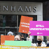 Former Debenhams workers to end their industrial action after 406 days