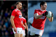 Cork bring in experienced duo to full-forward line for away clash with Laois
