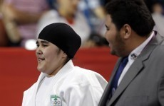 Saudi Arabia's first female Olympian 'honoured' despite quick exit
