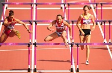 Team GB's golden girl Ennis sets scorching pace in heptathlon