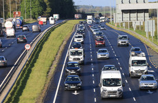 Traffic volumes at 85% of pre-pandemic levels after inter-county travel resumes