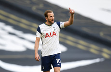 Harry Kane not interested in going abroad as he hints at Man City move