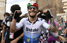 Bernal heads to mountains in pink as Nizzolo sprints to Giro stage win