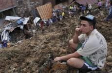 Search for survivors after Colombia landslide