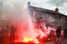 In pics: Dundalk fans protest outside Oriel Park - 'We want our club back'