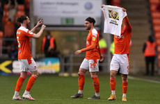 Disappointment for Irish contingent, as Blackpool prevail in play-offs