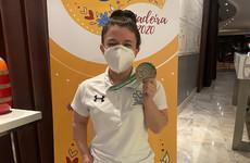Irish teenage sensation wins third medal of the week at European Championships