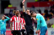 Brentford win wild second leg to beat Bournemouth to play-off final place