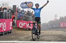 Fortunato climbs to win Giro's Monte Zoncolan stage