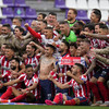Suarez fires Atletico to first La Liga crown since 2014 after nervy title race