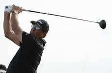 Mickelson takes slender lead into final day after extraordinary third round at USPGA Championship