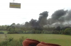 Motorists asked to avoid scene of oil depot fire outside Waterford