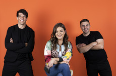 Doireann Garrihy's new 2FM co-hosts are Donncha O'Callaghan and Carl Mullan