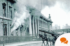 Burning the Custom House: Some Dublin firefighters played significant role by deliberately spreading the blaze
