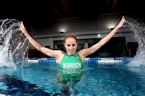 Aileen Morrison has placed second twice in the ITU World Series.