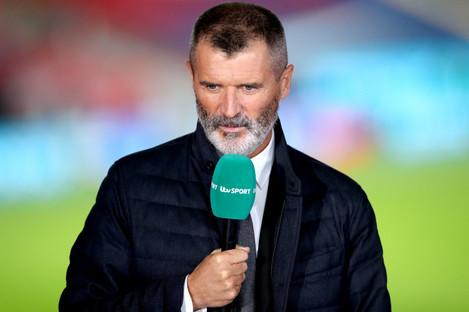 Roy Keane (file pic).