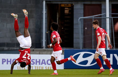 Parkes goal sends Sligo top of the league after win away to Shamrock Rovers