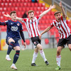 Derry still chasing home win after King nets late leveller for high-flying Saints