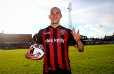 Bohemians' hat-trick hero admits he had a point to prove
