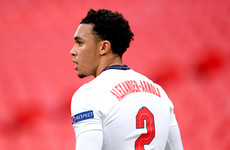 Alexander-Arnold included in 33-man provisional England squad for Euro 2020