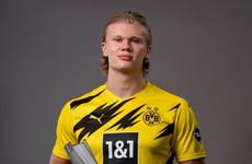 Haaland wins Bundesliga Player of the Year award