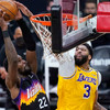 Los Angeles Lakers rally late to level first-round series with Phoenix Suns