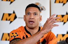Folau close to minor rugby league return in Australia but told that homophobic views not welcome