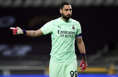Italy goalkeeper Donnarumma to leave AC Milan as a free agent this summer