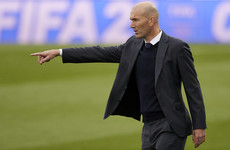 Zidane says he quit Real Madrid because of club's lack of 'faith'