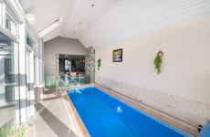 Lunchtime swim? Luxury living with an indoor pool, games room and bar for €855k