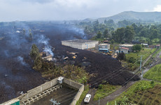 Irish charity Concern Worldwide has evacuated its base in Goma as fears mount of major volcanic eruption