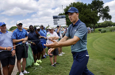 Garcia, Spieth share lead at Colonial, Mickelson struggles