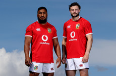 Henshaw and Aki continue shared journey with Lions