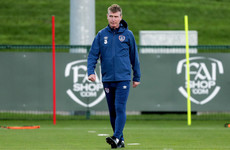 Kenny hopes new faces can bring some attacking spark as Ireland get to work in Girona