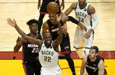 Greek star Giannis delivers triple double as Bucks sweep Miami