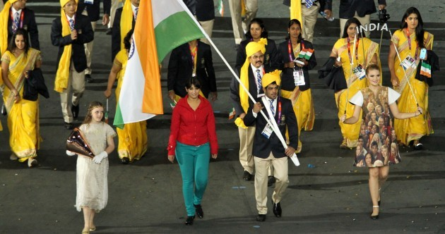 Indian Olympic parade gatecrasher apologises for 'error of judgement'