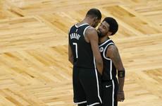 Brooklyn Nets close in on series win as Big Three breeze past Boston, fan arrested for throwing water bottle