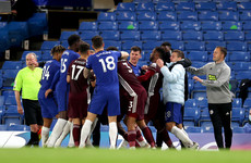 Chelsea and Leicester fined by FA after incident at Stamford Bridge