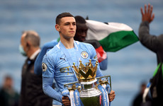Man City star Phil Foden in contention for two PFA Player of the Year awards