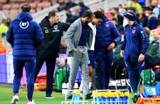 Saka's first international goal earns England win but setback as Alexander-Arnold injured