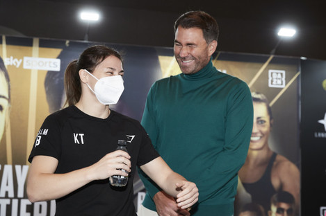 Katie Taylor will now fight exclusively live on streaming platform DAZN.