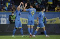 Northern Ireland suffer narrow defeat to Andriy Shevchenko's Ukraine
