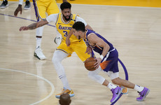 LA Lakers' NBA title defence over as Booker leads Phoenix Suns to victory