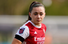 Ireland captain Katie McCabe named in PFA Team of the Year