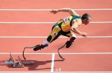 Track wrap: Pistorius makes history, Merritt out